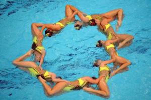 Синхронное плавание - вид спорта Универсиады-2013