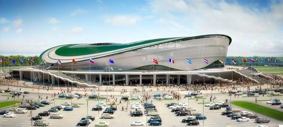 Футбольный стадион «Kazan-arena»